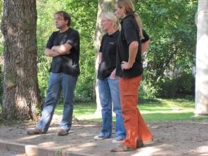 Franky, Anja und Michael