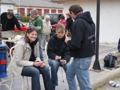 2. Mannschaft: Alex, Anja & Christoph